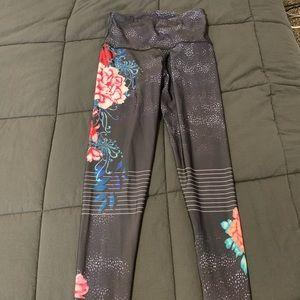 Full length colorful leggings